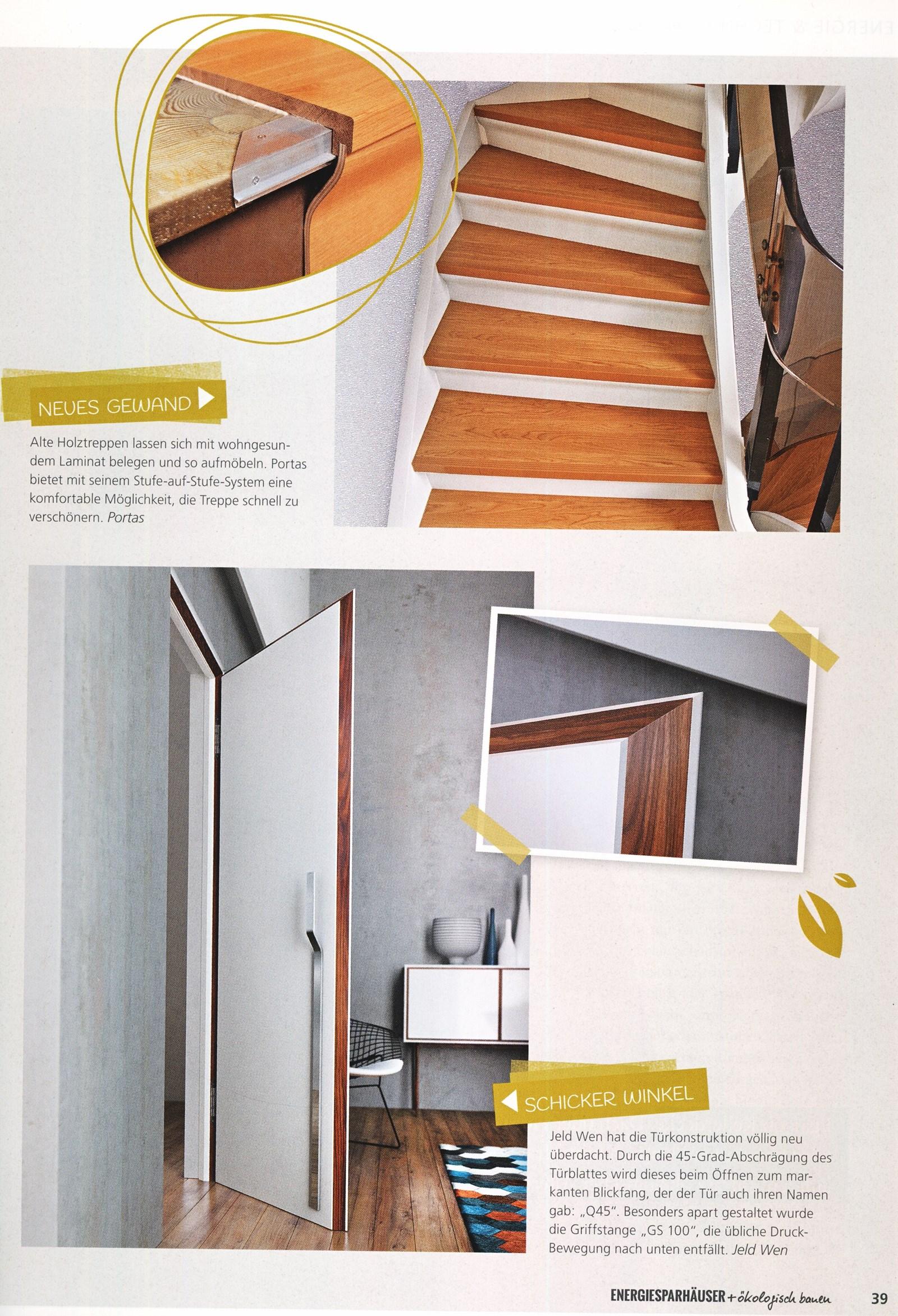wohnzeitschriften berichten ber die portas l sungen portas sterreich renovierung. Black Bedroom Furniture Sets. Home Design Ideas